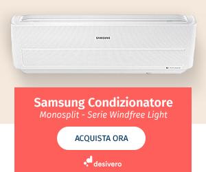 climatizzatore Samsung monosplit